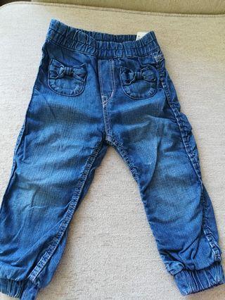 女童牛仔褲
