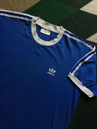 T-Shirt Adidas Trefoil Firebird Striped (Kaos Tshirt Baju)