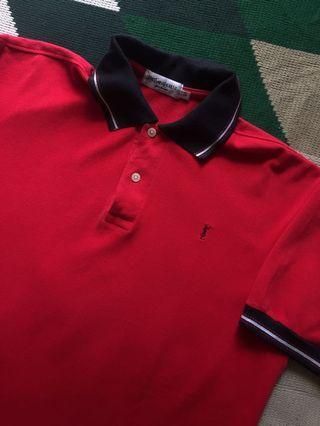 Yvessaintlaurent Polo Shirt(YSL baju Kemeja Kerah Kaos)