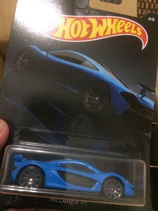 Hot Wheels Exotic McLaren P1