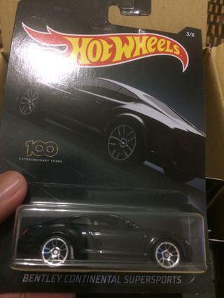 Hot Wheels Exotic Bentley Continentel
