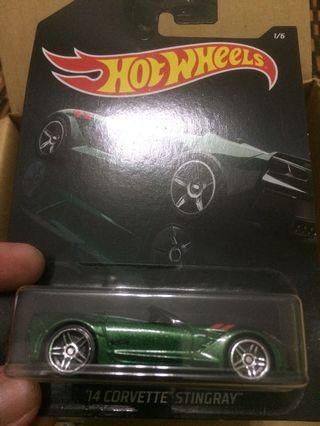 Hot Wheels Exotic 14 Corvette Stingray