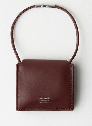 Acne studios Mini leather shoulder bag 全新