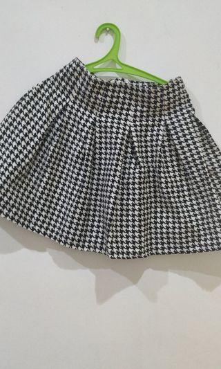 Mini Skirt handstooth