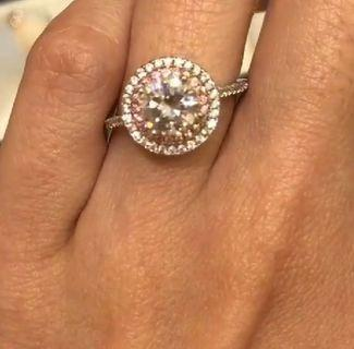 Diamond Ring 1.2 karat lookalike