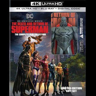 [Rent-A-Movie] THE DEATH AND RETURN OF SUPERMAN (2019) [MCC004]