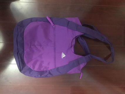 Brand New Purple Adidas Sport Tote