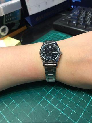 Casio 星期 日期手錶