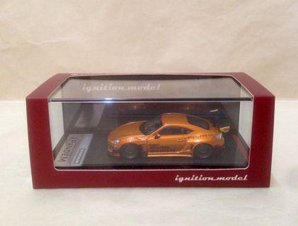 Ignition Model Pandem Toyota 86 V3 Orange Metallic