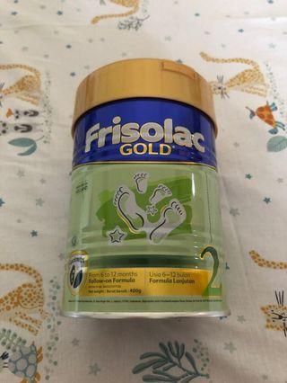 Susu Formula Frisolac Gold 2 6-12 bulan