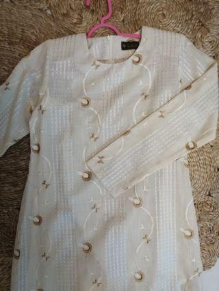 Cotton Kurung Size S/ Baju Kurung