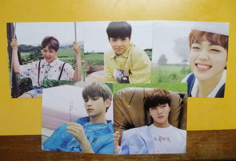 X1 Kihno Photocards