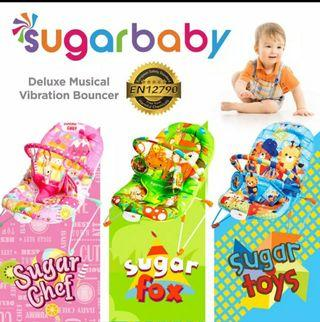 Sugar baby deluxe musical vibration recline