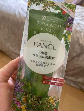 日本 7-11 限定  Fancl 草本 洗面乳 90g