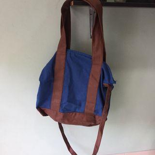 Blue Rubi Tote Bag