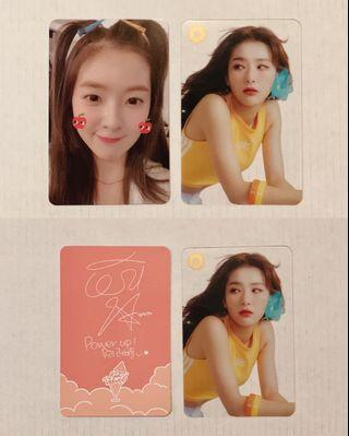 Red Velvet Summer Magic Irene & Seulgi Photocards