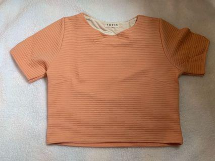 Crop Top pink peach
