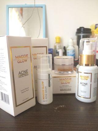 Maggie glow Acne