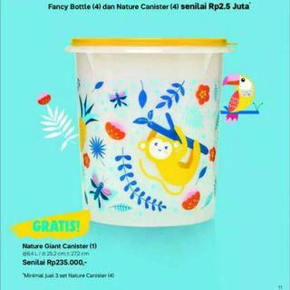 NATURE CANISTER GIANT TOPLES BESAR 8,4L