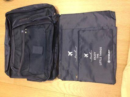 旅行收納袋 6件組