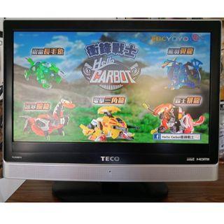 中古液晶電視 22吋 東元 TECO TL2296TL 二手液晶電視