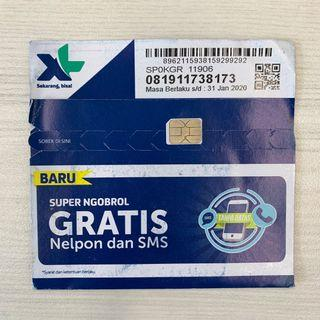 Indonesia SIM Card