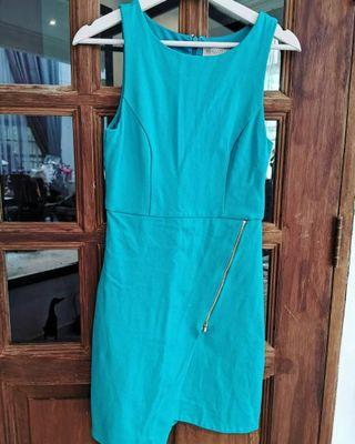 Forever New Turquoise Dress