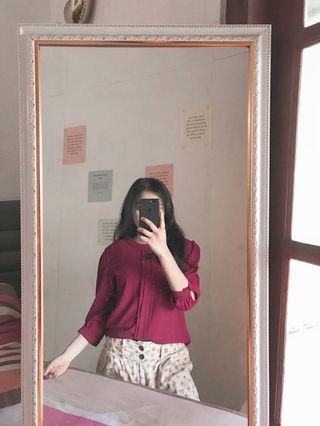 blouse merah original conexion
