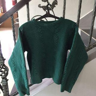 Giordano Green Sweater