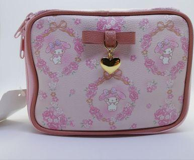 Sanrio Hello Kitty My Melody Make up Travelling Pouch