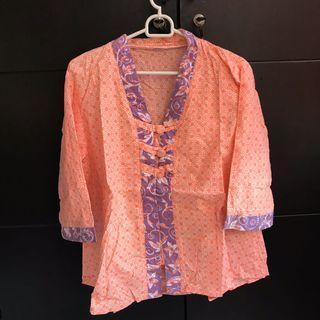 Batik Pastel Orange
