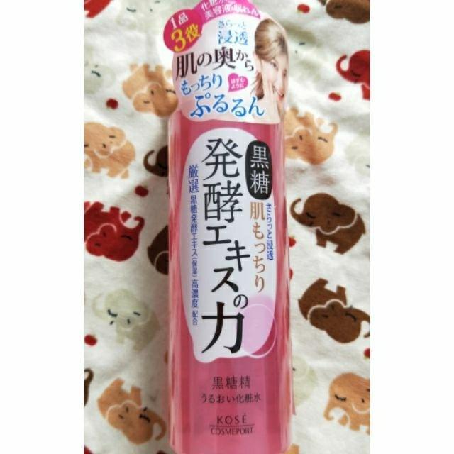 黑糖精透潤化妝水180ML