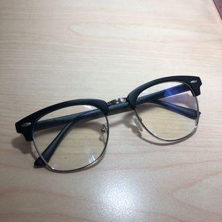 方框眼鏡 透明眼睛 文青眼鏡