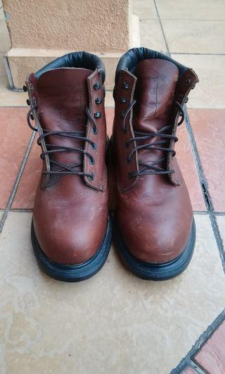 Used Red Wing 2245 safety boots
