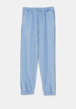ZARA Jogging Trousers w Contrasting Piping