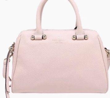 Kate spade charles street brantley pink muda handbag sling 2in1