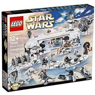 Lego 75098 Assault of Hoth Retired Set (RARE Set)