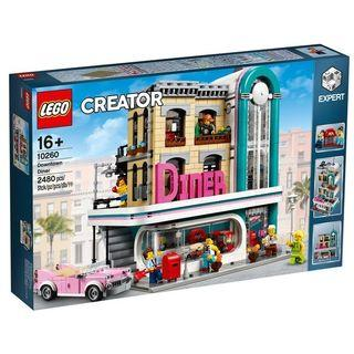 Lego 10260 Downtown Diner Creator Expert (Hard to Find)