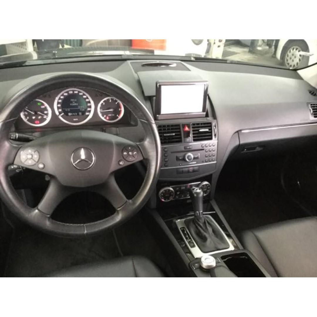 【出門有臉不敗經典】2008年 BENZ C220 Sedan 2.2柴油【經第三方認證】【車況立約保證】