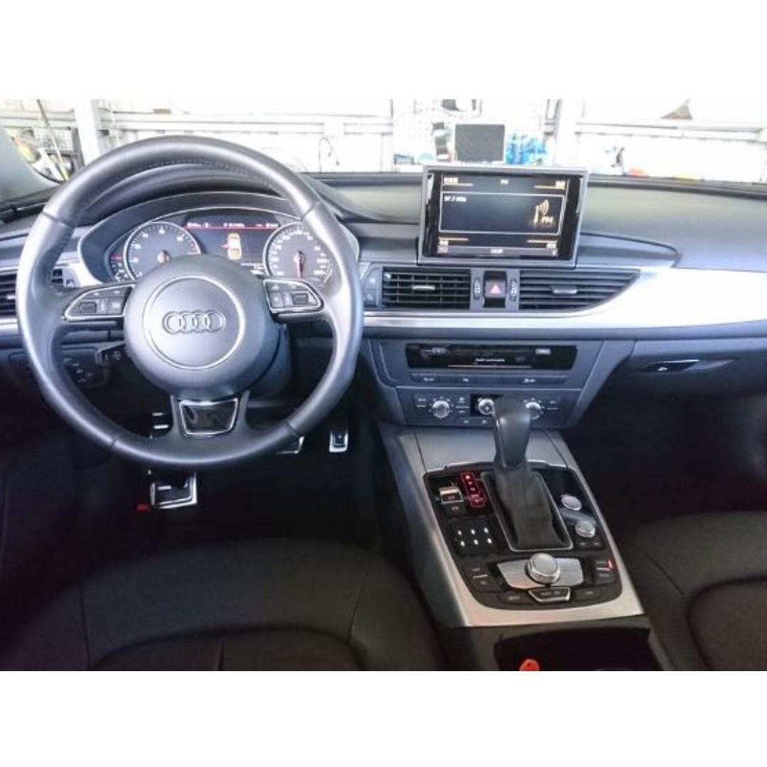 【精選超低里程優質車】2016年款 AUDI A6 35TFSI 1.8T【經第三方認證】【車況立約保證】