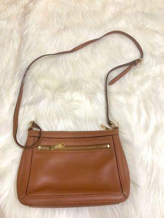 Ralph lauren sling Bag brown