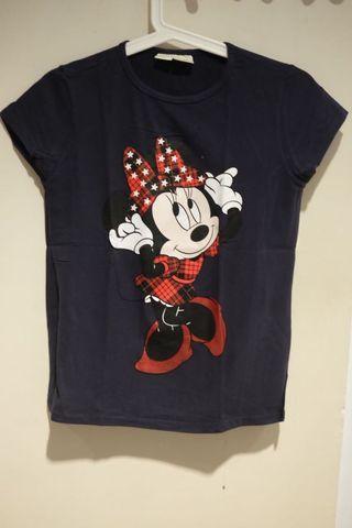 Kaos Minnie Mouse Zara