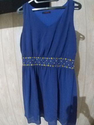 Dress Biru.