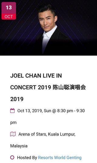 Joel Chan concert