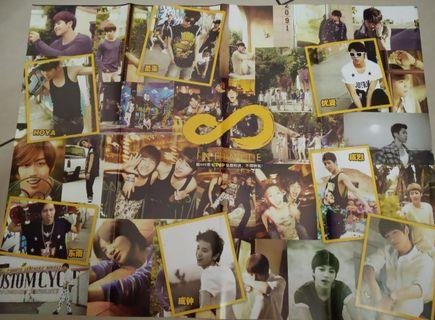 Infinite group posters