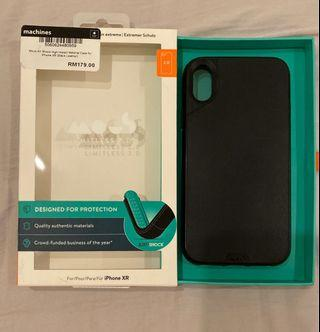 Mous iPhone XR Case (Black Leather)