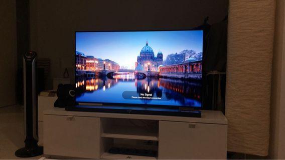 """LG 55"""" OLED 4K smart TV 55C7T"""
