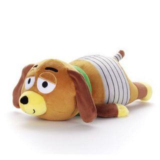 日本 玩具總動員彈簧狗mocchi mocchi 娃娃