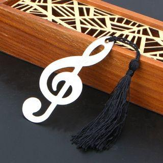Alloy Music Note Bookmark Vintage Books Markers Label Stationery Exquisite Gifts School 🌟Pre Order🌟