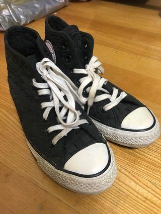 23.5 converse all star編織鞋